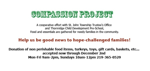 NewHope 2012 Compassion Project