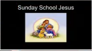 Sunday School Jesus